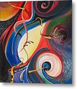 Circle Of Life Metal Print by Dayna Reed