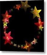 Circle Of Stars Metal Print