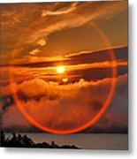 Circle Round The Sun Metal Print by Steven Ainsworth