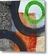 Circles 2 Metal Print by Linda Woods