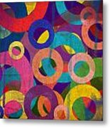 Circles Metal Print by Aya Murrells