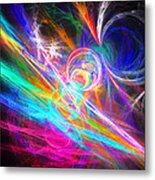 Circles Of Colours Metal Print