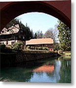 Circular Arc View Metal Print