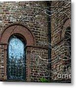 Circular Church Window Metal Print