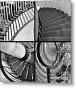 Circular Metal Print by Luke Moore