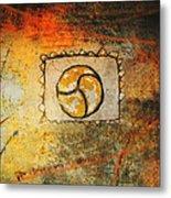 Circumvolve Metal Print by Kandy Hurley