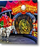 Circus Act Metal Print