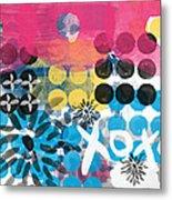 Circus - Contemporary Abstract Art Metal Print