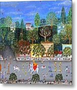 Circus Parade Two Metal Print