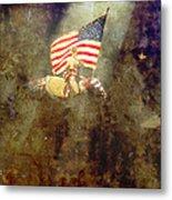 Circus Usa Flag Metal Print