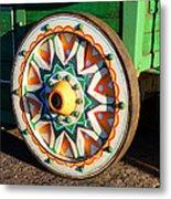 Circus Wagon Metal Print