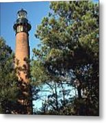 Cirrituck Beach Light Metal Print