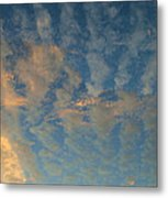 Cirrocumulus Morning Metal Print