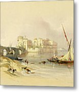 Citadel Of Sidon Metal Print