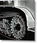Citroen Half Track - Automobile  Metal Print