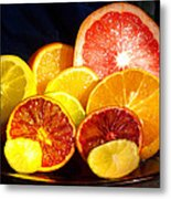 Citrus Season Metal Print by Anastasia Savage Ealy