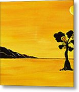 Citrus Sunset Metal Print