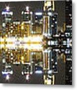 City Approach Panoramic Metal Print