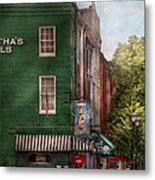 City - Baltimore - Fells Point Md - Bertha's And The Greene Turtle  Metal Print