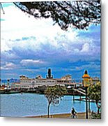 City By The Bay In San Francisco-california  Metal Print