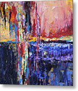 City By The Sea 1 Metal Print