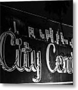 City Center Metal Print