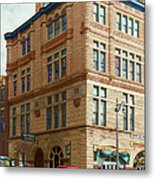 City - Chattanooga Tn - 1943 - The Masonic Temple Metal Print by Mike Savad