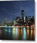 City Glares Metal Print