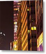 City Glow Metal Print