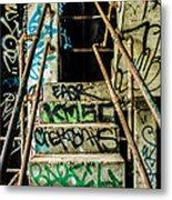 City Grunge Metal Print