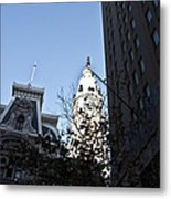 City Hall At Market Street Metal Print