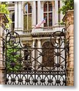 City Hall Gate Metal Print