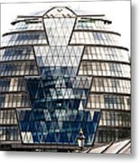 City Hall London Metal Print by Christi Kraft