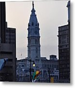 City Hall Philadelphia Metal Print