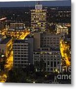 City Hall Scape Metal Print