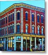 City - Hannibal Missouri - Mark Twain- Luther Fine Art Metal Print