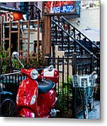 City Jazz Metal Print