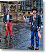 City Jugglers Metal Print by Ron Shoshani
