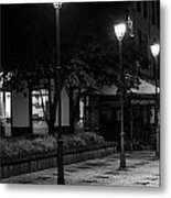 City Lights Metal Print