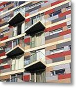City Living Metal Print