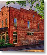 City Market At Savannah Metal Print