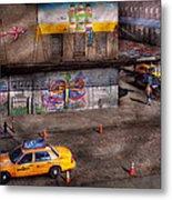 City - New York - Greenwich Village - Life's Color Metal Print