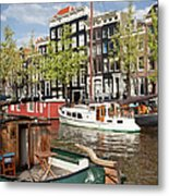 City Of Amsterdam Metal Print
