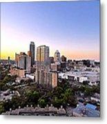 City Of Austin Texas Metal Print