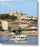 City Of Budapest Metal Print