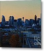 City Of Calgary Metal Print