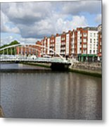 City Of Dublin In Ireland Metal Print