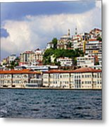 City Of Istanbul Cityscape Metal Print