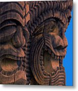 City Of Refuge Tiki Gods Metal Print