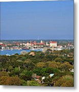 City Of St Augustine Florida Metal Print